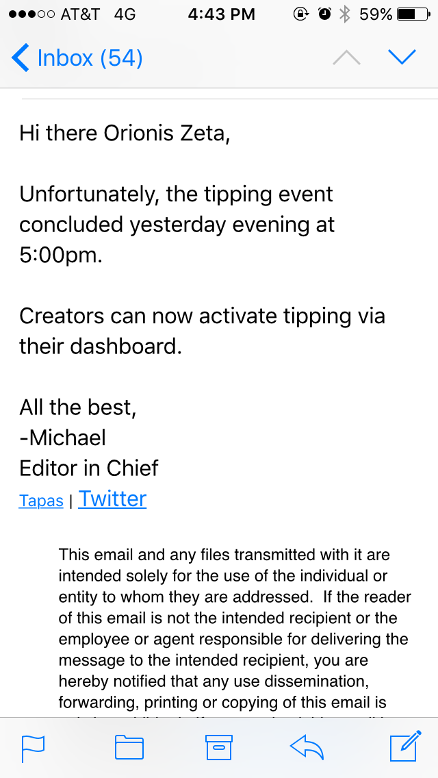 How do you set up tipping? - Answered - Tapas Forum